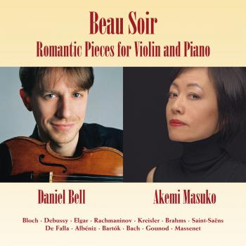Beau Soir - Romantic Pieces for Violin and Piano